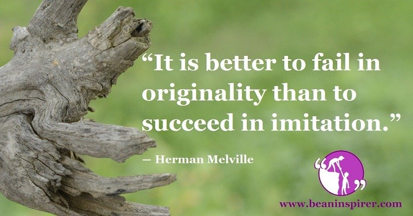 Failing In Originality Is Definitely Better Than ...