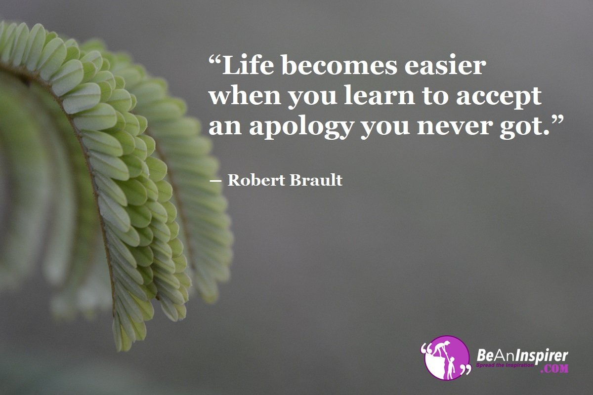Life Becomes Easier When You Learn To Accept