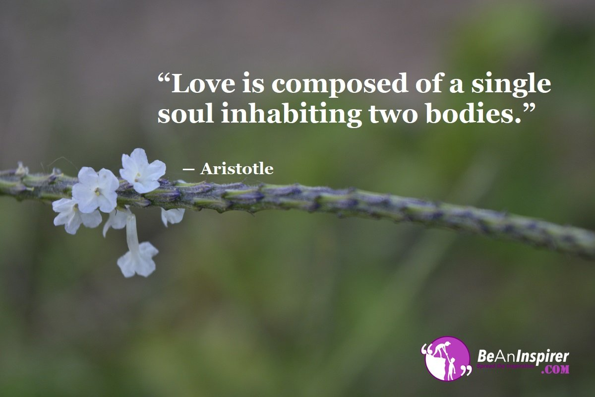 Love-is-composed-of-a-single-soul-inhabiting-two-bodies-Aristotle-Top-100-Love-Quotes-Be-An-Inspirer