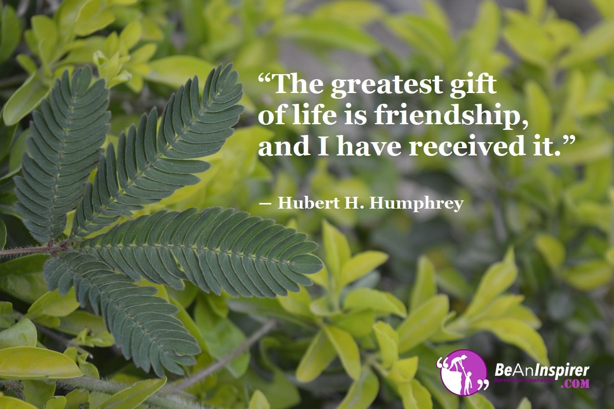 The-greatest-gift-of-life-is-friendship-and-I-have-received-it-Hubert-H-Humphrey-Top-100-Friendship-Quotes-Be-An-Inspirer