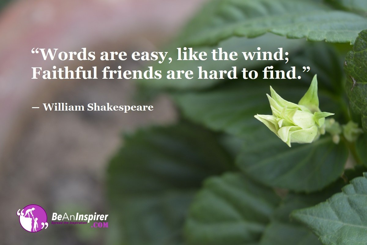 Words-are-easy-like-the-wind-Faithful-friends-are-hard-to-find-William-Shakespeare-Top-100-Friendship-Quotes-Be-An-Inspirer