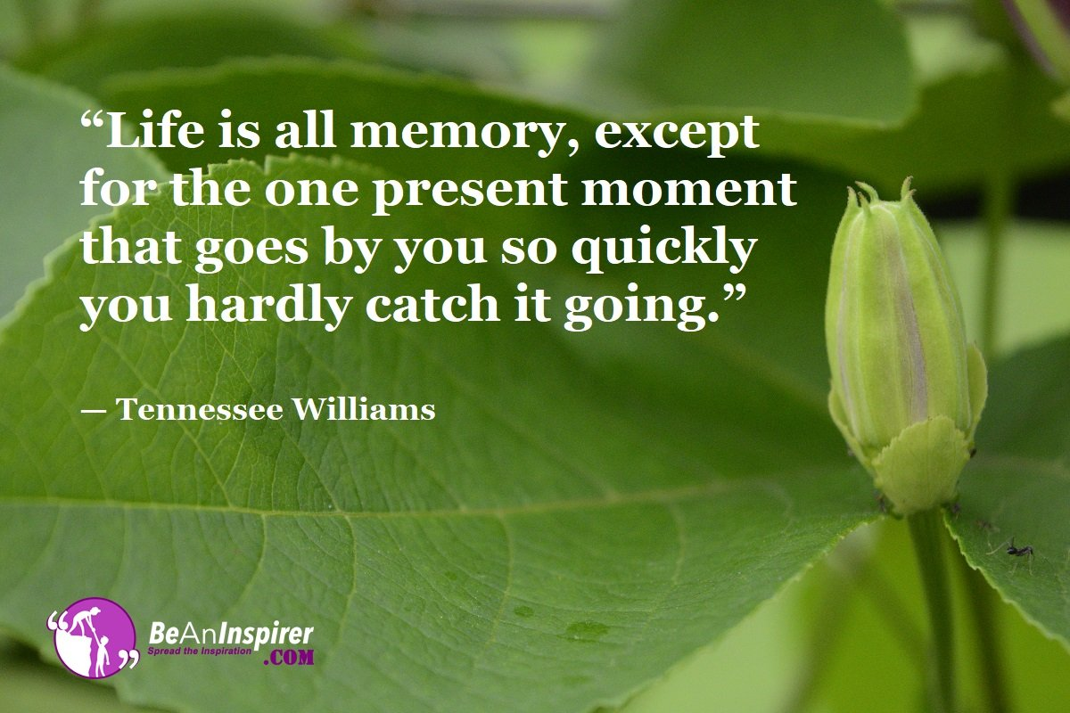 Life-is-all-memory-except-for-the-one-present-moment-that-goes-by-you-so-quickly-you-hardly-catch-it-going-Tennessee-Williams-Top-100-Life-Quotes-Be-An-Inspirer