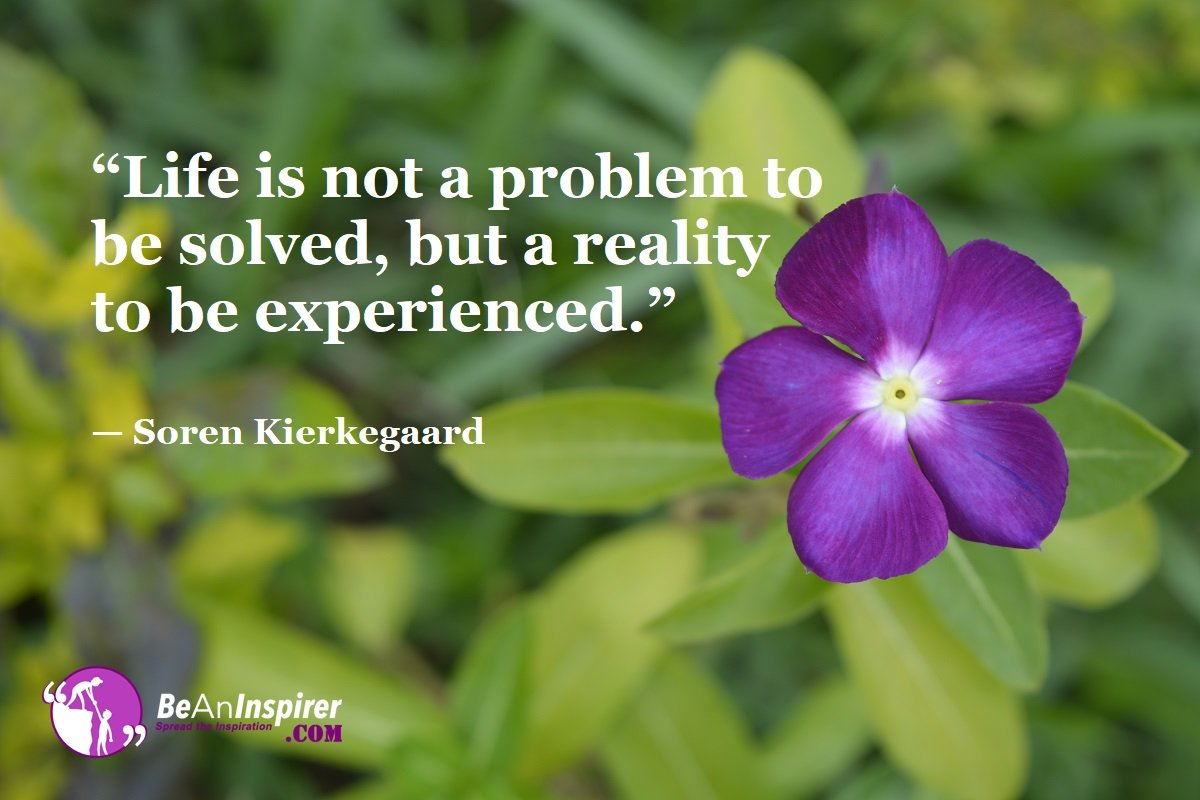 Life-is-not-a-problem-to-be-solved-but-a-reality-to-be-experienced-Soren-Kierkegaard-Top-100-Life-Quotes-Be-An-Inspirer