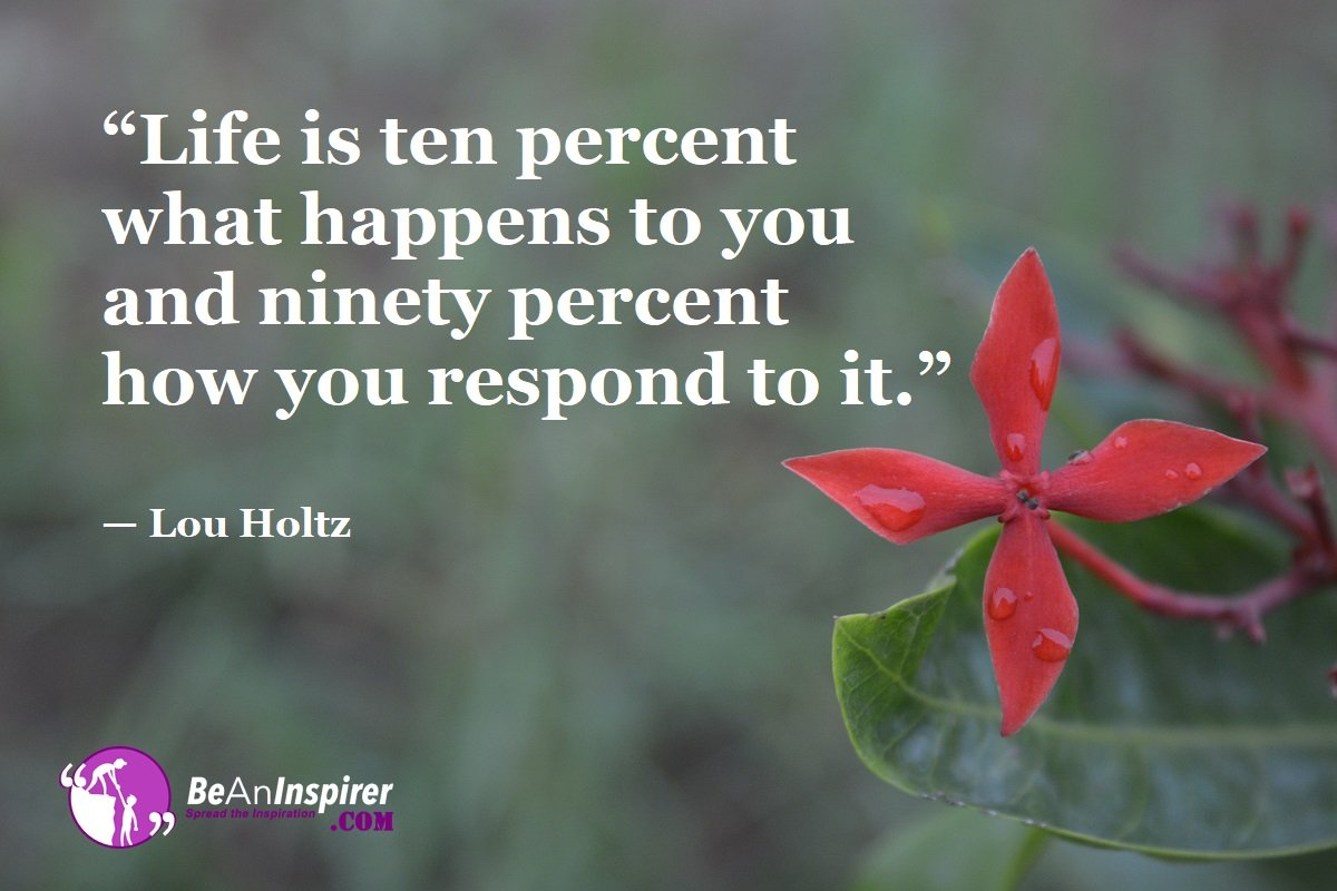 Life-is-ten-percent-what-happens-to-you-and-ninety-percent-how-you-respond-to-it-Lou-Holtz-Top-100-Life-Quotes-Be-An-Inspirer