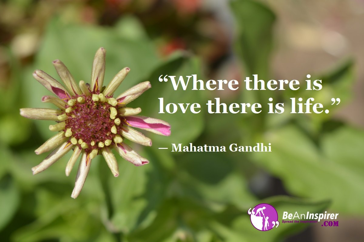 Where-there-is-love-there-is-life-Mahatma-Gandhi-Top-100-Life-Quotes-Be-An-Inspirer